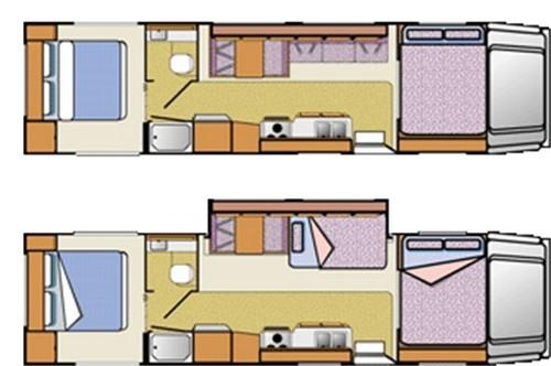 cs30 classc motorhome slide-out motorhome rental